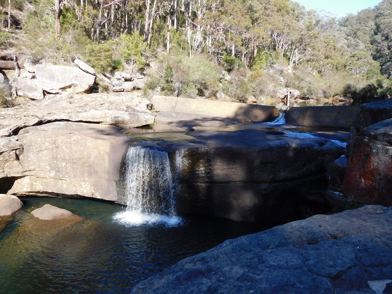Photo: DharawalNP-Jingga-Track-Waterfall